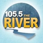 Logo da emissora KRBI 105.5 FM The River