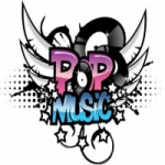 Logo da emissora R�dio Pop Music