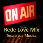Logo da emissora Rede Love Mix