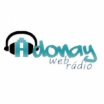 Logo da emissora Web Rádio Adonay