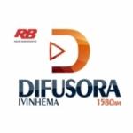 Logo da emissora Rádio Difusora Ivinhema 1580 AM