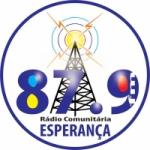 Logo da emissora Rádio Esperança 87.9 FM