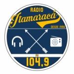 Logo da emissora R�dio Itamarac� 104.9 FM