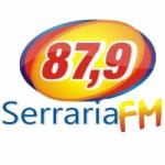 Logo da emissora Rádio Serraria 87.9 FM