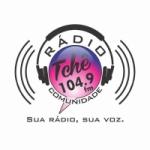 Logo da emissora R�dio Tch� Comunidade 104.9 FM