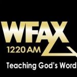 Logo da emissora WFAX 1220 AM