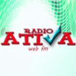 Logo da emissora Rádio Ativa Web  FM