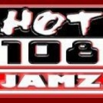 Logo da emissora Hot 108 Jamz