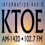 Logo da emissora KTOE 1420 AM