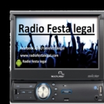 Logo da emissora Rádio Festa Legal
