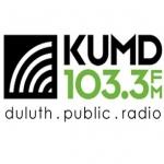 Logo da emissora KUMD 103.3 FM