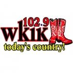 Logo da emissora Radio WKIK 102.9 FM