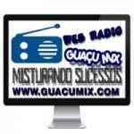 Logo da emissora Web R�dio Gua�u Mix