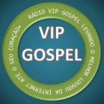 Logo da emissora Rádio Vip Gospel