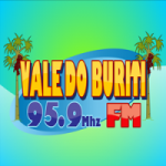 Logo da emissora Rádio Educativa Vale do Buriti 95.9 FM
