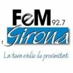 Logo da emissora FM Girona 92.7