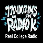 Logo da emissora KUOM Radio K 770 AM