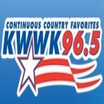 Logo da emissora KWWK 96.5 FM