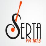 Logo da emissora R�dio Serta 101.5 FM