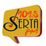 Logo da emissora Rádio Serta 101.5 FM