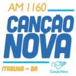 Logo da emissora Rádio Canção Nova 1160 AM