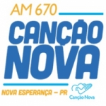 Logo da emissora Rádio Canção Nova 670 AM
