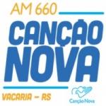 Logo da emissora R�dio Can��o Nova 660 AM