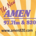 Logo da emissora WGGM 820 AM