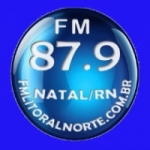 Logo da emissora Rádio Litoral Norte 87.9 FM
