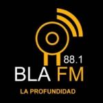 Logo da emissora Blá FM