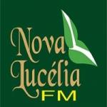 Logo da emissora Nova Luc�lia FM