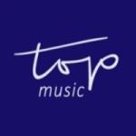 Logo da emissora Rádio Top Music FM