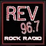 Logo da emissora KZRV 96.7 FM