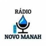 Logo da emissora Rádio Novo Manah