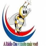 Logo da emissora Rádio Sanharó 104.9 FM