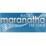 Logo da emissora Rádio Maranatha 104.9 FM