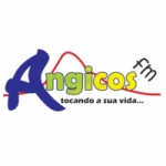 Logo da emissora Angicos FM