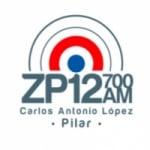 Logo da emissora Radio ZP12 700 AM