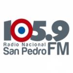Logo da emissora Radio Nacional 105.9 FM