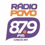 Logo da emissora Rádio Povo 87.9 FM