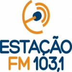 Logo da emissora Rádio Estação 103.1 FM