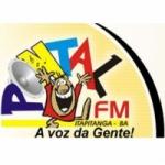 Logo da emissora Rádio Pontal 104.9 FM