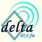Logo da emissora Rádio Delta Gospel 87.9 FM