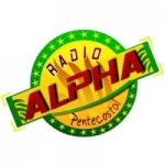 Logo da emissora R�dio Alpha Pentecostal