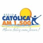 Logo da emissora Rádio Católica 1500 AM