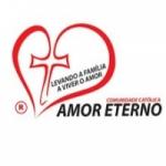 Logo da emissora Rádio Amor Eterno de Deus