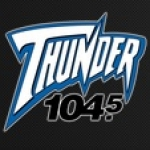 Logo da emissora WGRX 104.5 FM