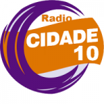 Logo da emissora Rádio Cidade 10 (Flashback)