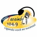 Logo da emissora Rádio Tacaimbó 104.9 FM