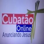 Logo da emissora R�dio Cubat�o FM